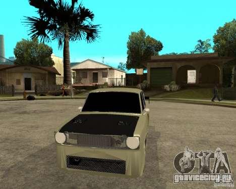 Ваз 2101 D-LUXE для GTA San Andreas вид сзади