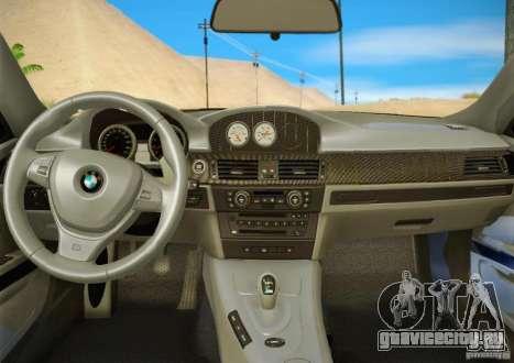 BMW M3 GT-S Final для GTA San Andreas вид сверху