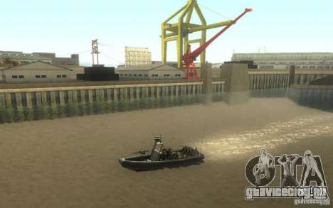 RHIB Boat для GTA San Andreas