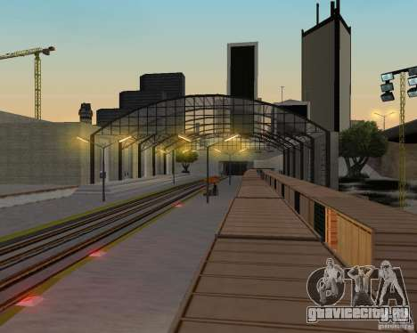 Новый вокзал для GTA San Andreas девятый скриншот