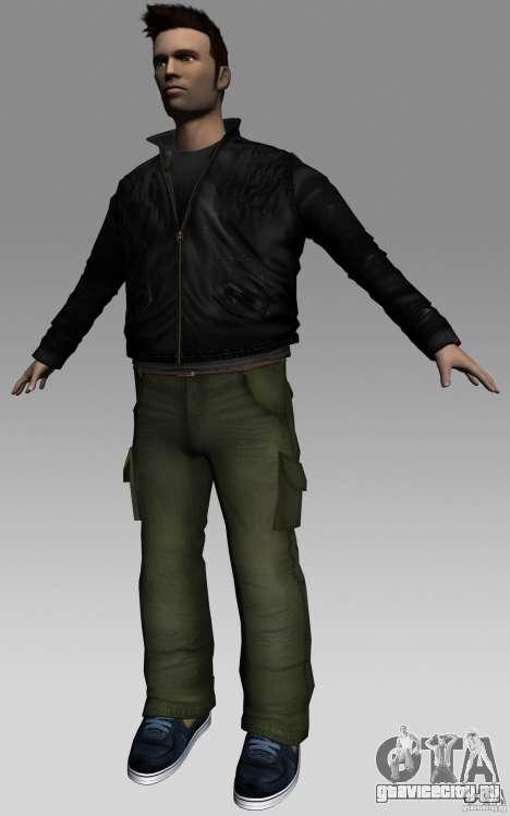 Claude HD from GTA III для GTA Vice City третий скриншот