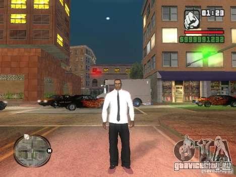 Рубашка с Галстуком для GTA San Andreas второй скриншот