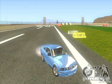 Ford Mustang Pony Edition для GTA San Andreas вид сбоку