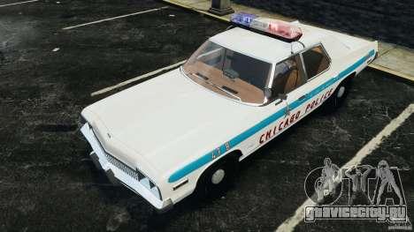 Dodge Monaco 1974 Police v1.0 [ELS] для GTA 4 колёса