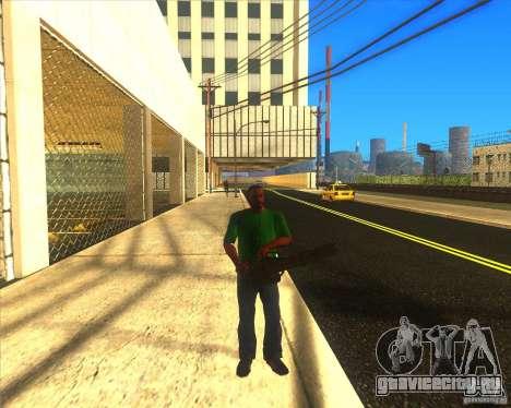 M134 minigan для GTA San Andreas третий скриншот