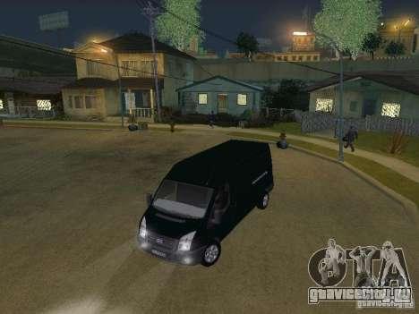 Ford Transit 350L для GTA San Andreas вид сбоку
