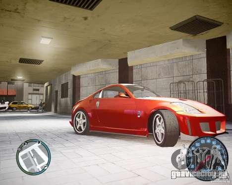 Nissan 350Z Z33 для GTA 4 вид слева