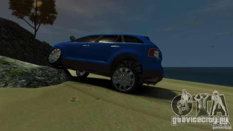 Ford Edge 2007 для GTA 4 вид слева