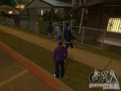Ballas 4 Life для GTA San Andreas