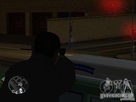 HUD и оружие из GTA IV для GTA San Andreas второй скриншот