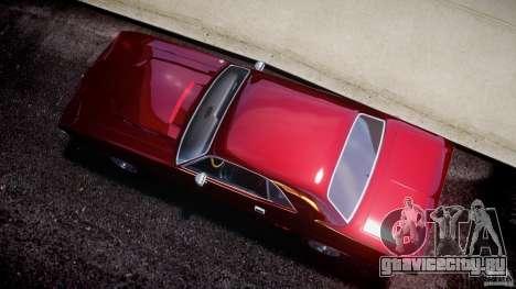Dodge Challenger 1971 для GTA 4 вид справа
