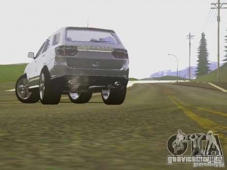 Dodge Durango 2012 для GTA San Andreas вид изнутри