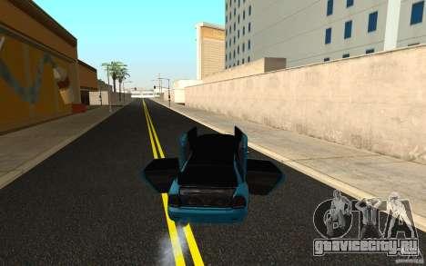 ВАЗ 2170 Пенза тюнинг для GTA San Andreas вид изнутри