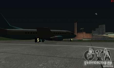 AT-400 во всех аэропортах для GTA San Andreas шестой скриншот