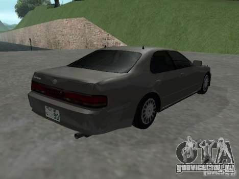Toyota Cresta JZX 90 для GTA San Andreas вид сзади слева