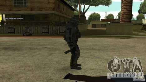 Roach from CoD MW2 для GTA San Andreas третий скриншот