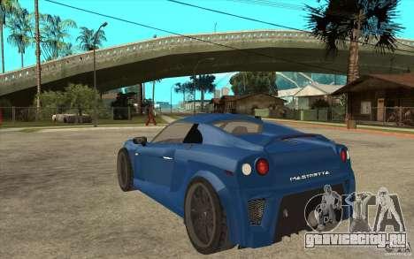 Mastretta MXT v1.1 для GTA San Andreas вид сзади слева