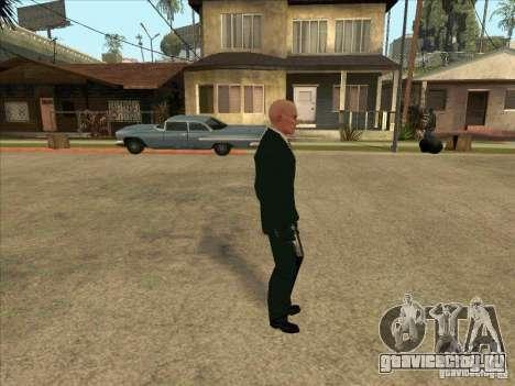 Hitman: Codename 47 для GTA San Andreas второй скриншот