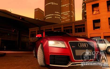Audi RS5 для GTA San Andreas вид сбоку