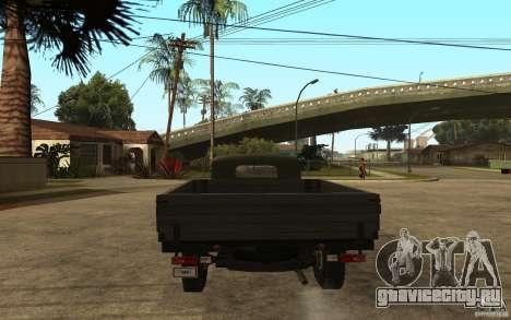 УАЗ 300 для GTA San Andreas вид сзади слева