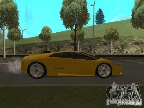 Lamborghini Murcielago LP640 для GTA San Andreas вид справа