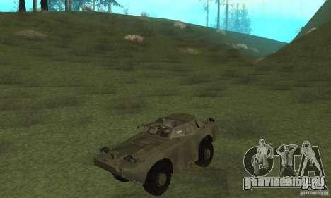 БРДМ-1 Скин 3 для GTA San Andreas вид слева