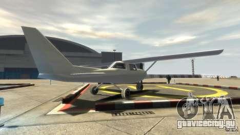 San Andreas Dodo для GTA 4 вид сзади слева