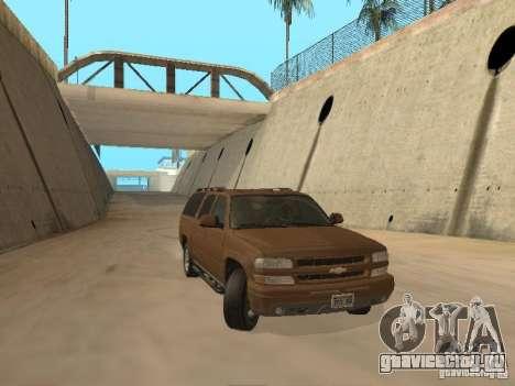 Chevrolet Suburban 2003 для GTA San Andreas вид слева