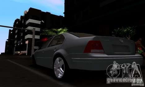 Volkswagen Bora 1.8T для GTA San Andreas вид слева