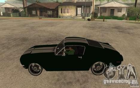 Ford Mustang TOKYO DRIFT для GTA San Andreas вид слева