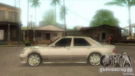 Mercedes-Benz E500 VIP Class для GTA San Andreas вид слева