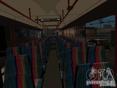 ГолАЗ-ЛиАЗ 5256R для GTA San Andreas вид сзади
