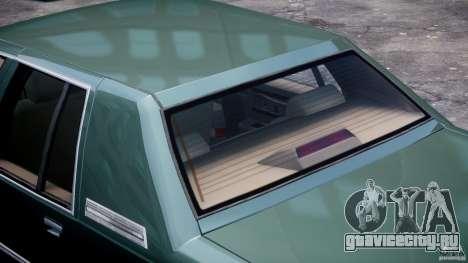 Buick Roadmaster Sedan 1996 v1.0 для GTA 4 колёса
