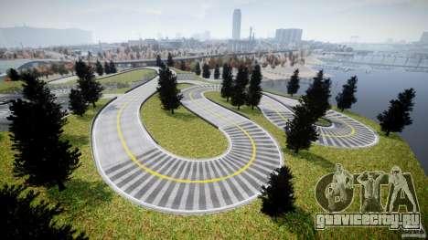 Edem Hill Drift Track для GTA 4 пятый скриншот