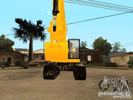 Экскаватор CAT для GTA San Andreas вид справа