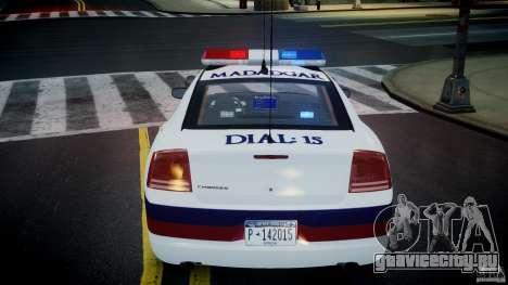 Dodge Charger Karachi City Police Dept Car [ELS] для GTA 4 вид сверху
