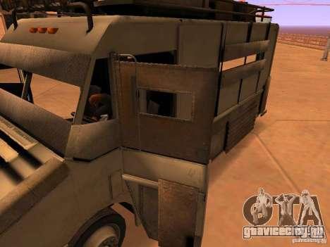 Monster Van для GTA San Andreas салон