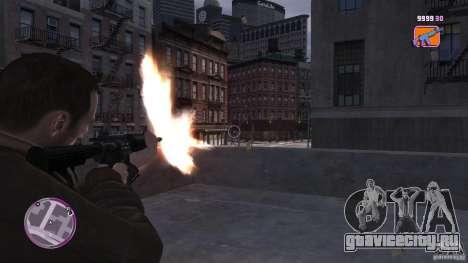 VC Style Radar/HUD (скин 2) для GTA 4 третий скриншот