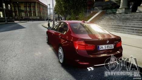 BMW 335i 2013 v1.0 для GTA 4 вид сзади слева