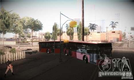 Design X3 GL для GTA San Andreas вид изнутри