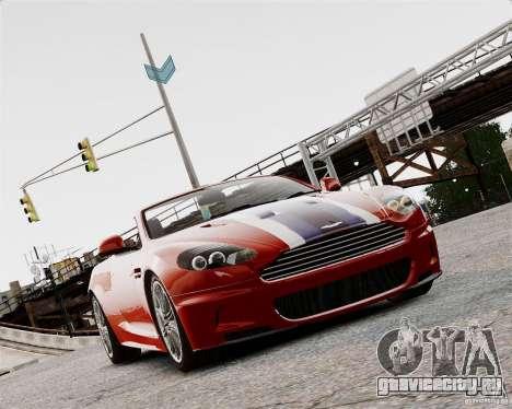 Aston Martin DBS Volante 2010 v1.5 Bonus Version для GTA 4 вид слева