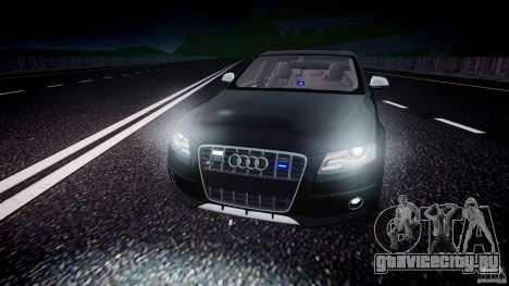 Audi S4 Unmarked [ELS] для GTA 4 вид снизу