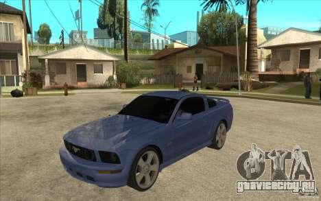 Ford Mustang 2005 для GTA San Andreas