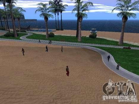 Новые текстуры пляжа v1.0 для GTA San Andreas