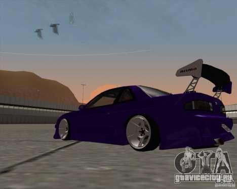 Nissan Silvia S13 Nismo tuned для GTA San Andreas вид справа