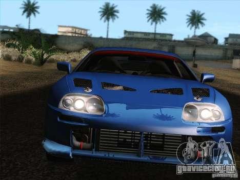 Toyota Supra TRD3000GT v2 для GTA San Andreas двигатель