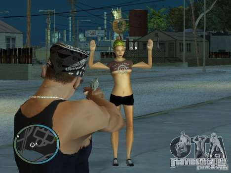 Камера из GTA IV 1.0 для GTA San Andreas четвёртый скриншот