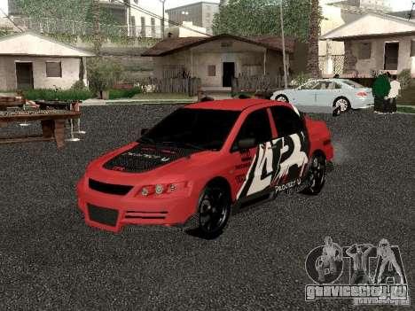 Mitsubishi Lancer Evo 8 для GTA San Andreas