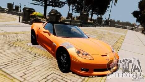 Chevrolet Corvette Grand Sport 2010 для GTA 4 вид сзади