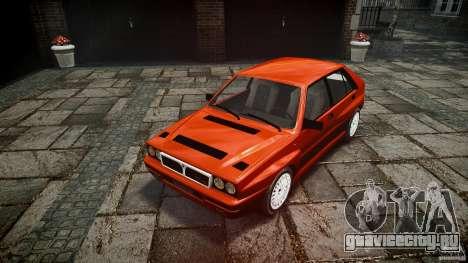 Lancia Delta HF 4WD для GTA 4 вид сзади
